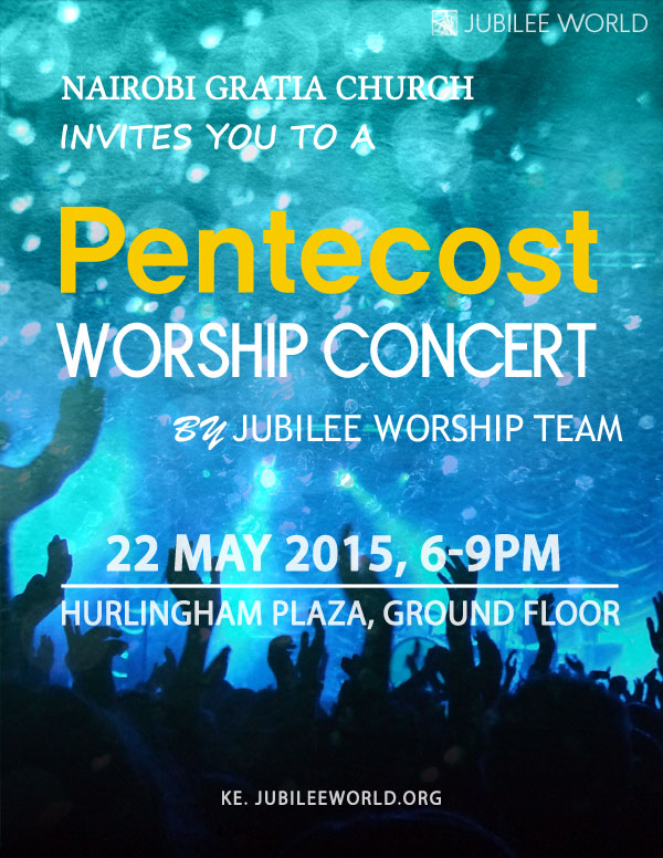 Pentecost worship concert